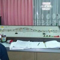 Photo taken at Stasiun Wates by Jalu A. on 6/14/2012