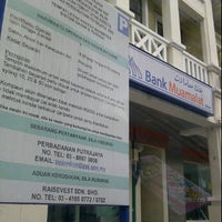 Photo taken at Bank Muamalat Presint Diplomatik Presint 14 Putrajaya by Ema on 1/22/2012