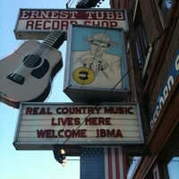 Photo taken at Ernest Tubb Record Shop by Shane J. on 9/27/2011