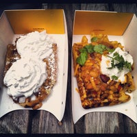 Photo taken at Wafels & Dinges - Vedette Cart by Julianne A. on 3/28/2012
