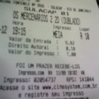 Photo taken at Cine10 Sulacap by Rodrigo d. on 9/11/2012