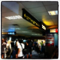 Photo taken at Gate 66 by Rainy on 11/6/2011