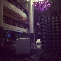Photo taken at Gansevoort Park Avenue NYC by Kyle K. on 3/24/2012
