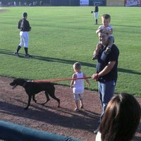 Photo taken at Fifth Third Bank Ballpark by Jamie S. on 8/30/2011