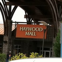 Photo taken at Haywood Mall by Jessica S. on 9/16/2011