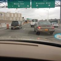 Photo taken at Willis Avenue Bridge by Tarayvia F. on 3/31/2012