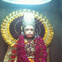 Photo taken at Sri hanuman temple by Himanshu S. on 4/24/2012