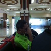Photo taken at Sultan Iskandar Muda International Airport (BTJ) by aji K. on 7/27/2012