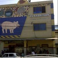 Photo taken at El Sabrosón by Gins N. on 11/2/2011