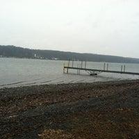 Photo taken at Lake Owasco by Evan S. on 2/16/2012