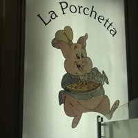 Photo taken at La Porchetta by Tony E. on 7/13/2012