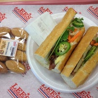 Photo taken at Lee's Sandwiches by Kim S. on 8/31/2012