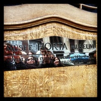Photo taken at Musée Horta Museum by Dario C. on 2/26/2012
