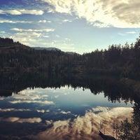 Photo taken at Nita Lake Lodge by Kevin D. on 6/26/2012