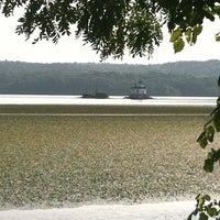 Photo taken at Esopus Lighthouse Park by Joyce K. on 9/2/2012