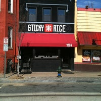 Photo taken at Sticky Rice by diane q. on 2/18/2012
