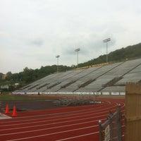 Photo taken at University of Charleston Stadium at Laidley Field by David B. on 5/15/2012