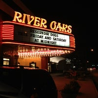 Photo taken at Landmark River Oaks Theatre by Jessica C. on 8/25/2012