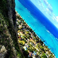 Photo taken at Lanikai Pillboxes Hike by Kirk B. on 5/10/2012