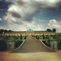 Photo taken at Schloss Sanssouci by Daniel K. on 5/22/2012