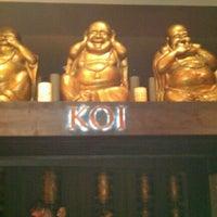 Photo taken at Koi Restaurant by Teva B. on 9/8/2011