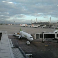 Photo taken at Terminal 2 (TPS2) by Claudio G. on 8/31/2012