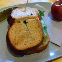 Photo taken at Saint Louis Bread Co. by Robin M. on 7/18/2011