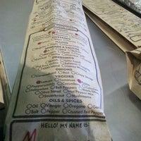 Photo taken at Which Wich Superior Sandwiches by Matthew D. on 12/19/2011