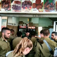 Photo taken at Schwarma And Felafel Stand by Ira M. on 4/8/2012