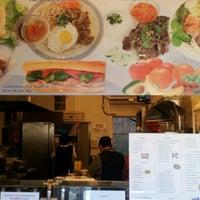 Photo taken at B T Sandwich Deli (Vietnamese) by Brett W. on 12/15/2011