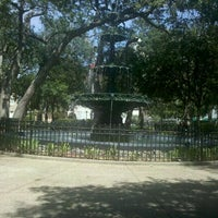 Photo taken at Bienville Square by Pammie B. on 6/29/2011