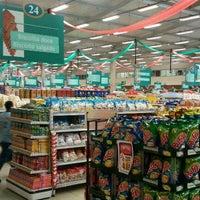Photo taken at Superluna Supermercados by Daniel M. on 12/1/2011