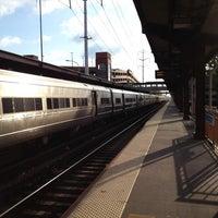 Photo taken at LIRR - Huntington Station by Jody F. on 5/2/2012