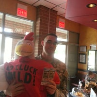 Photo taken at Cluckers Charcoal Chicken by Steve C. on 9/12/2012