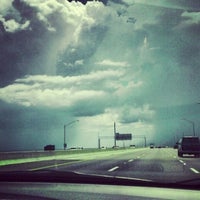 Photo taken at Howard Frankland Bridge by Ray R. on 7/28/2012