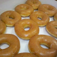 Photo taken at Krispy Kreme Doughnuts by Lisa M. on 8/27/2012