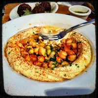 Photo taken at Hummus Place by Jorge Q. on 11/19/2011