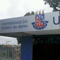 Photo taken at Universidade do Estado da Bahia (UNEB) by Roberto C. on 11/7/2011