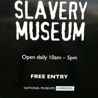 Photo taken at International Slavery Museum by david k. on 10/18/2011