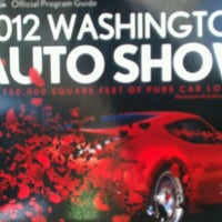 "Photo taken at Washington D.C. Auto Show by ""ScOrPiO LeE"" on 1/29/2012"