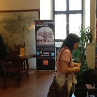 Photo taken at Ufficio Informazioni Turistiche Ferrara by Elena Q. on 4/28/2012