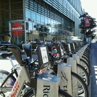 Photo taken at Station BIXI by JulienF on 9/19/2011
