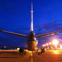 Photo taken at Aéroport Toulouse-Blagnac (TLS) by Emile N. on 6/12/2012