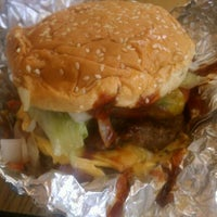 Photo taken at Five Guys by Kayin D. on 9/29/2011