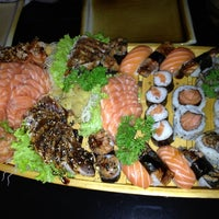 Photo taken at Teru Sushi by Paulo O. on 3/3/2012