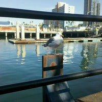Photo taken at The Bay Cafe by Maggie on 1/9/2012