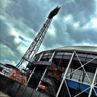 Photo taken at Stadion Feijenoord by Ronald S. on 7/3/2012