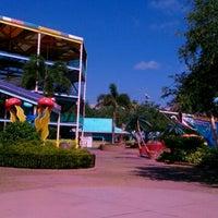 Photo taken at Shamu's Happy Harbor by Jean M. on 5/19/2012