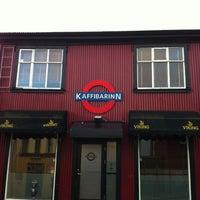 Photo taken at Kaffibarinn by Simon G. on 2/1/2012
