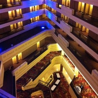 Photo taken at Sheraton Springfield at Monarch Place by Crystal N. on 9/11/2011